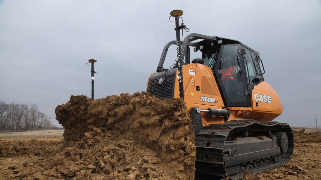 CASE introduces factory-fit machine control for dozers