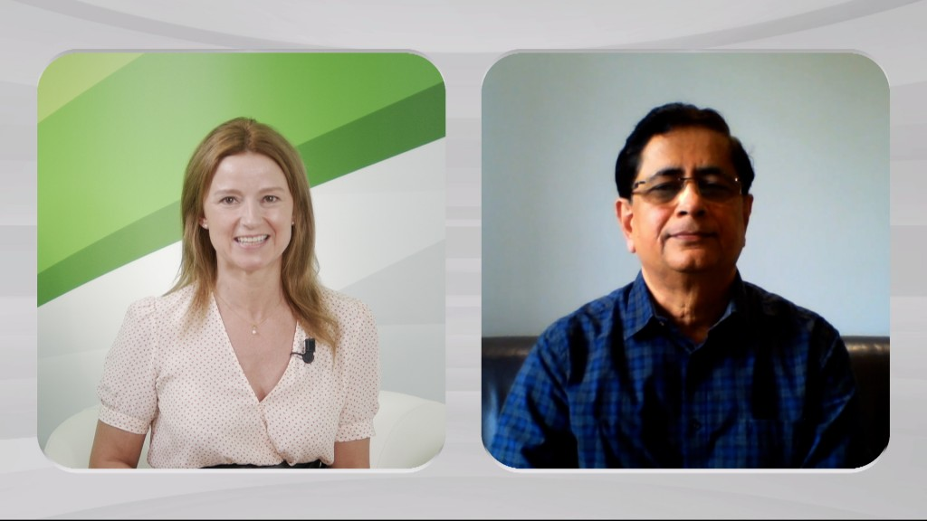 Interview with Mr. Dilip Vaidya, President and Director of Technology on split screen