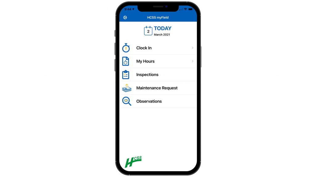 HCSS introduces mobile time tracking and engagement app