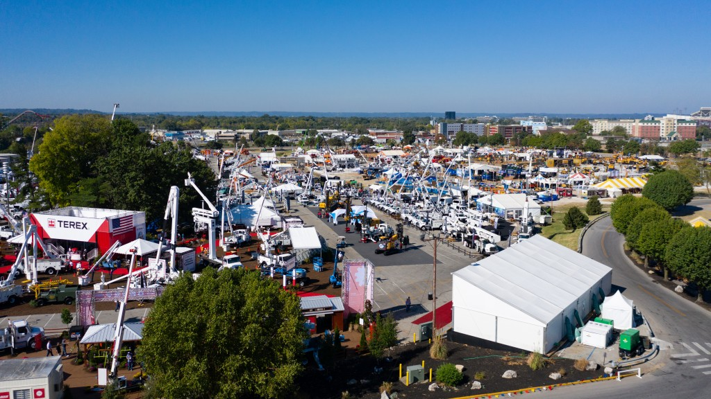 ICUEE Expo from 2019 aerial view