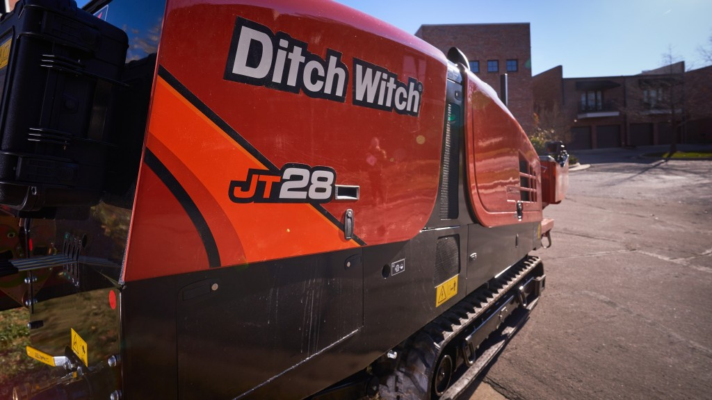 Ditch Witch launches small HDD unit for compact job sites
