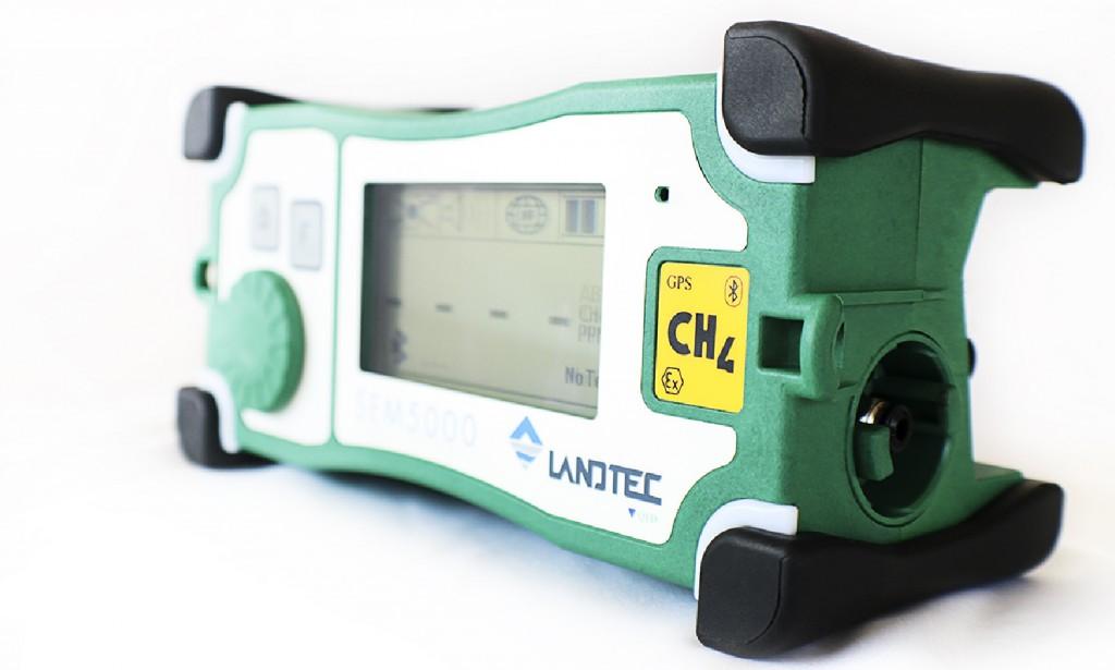 The LANDTEC SEM5000 methane (CH4) detector