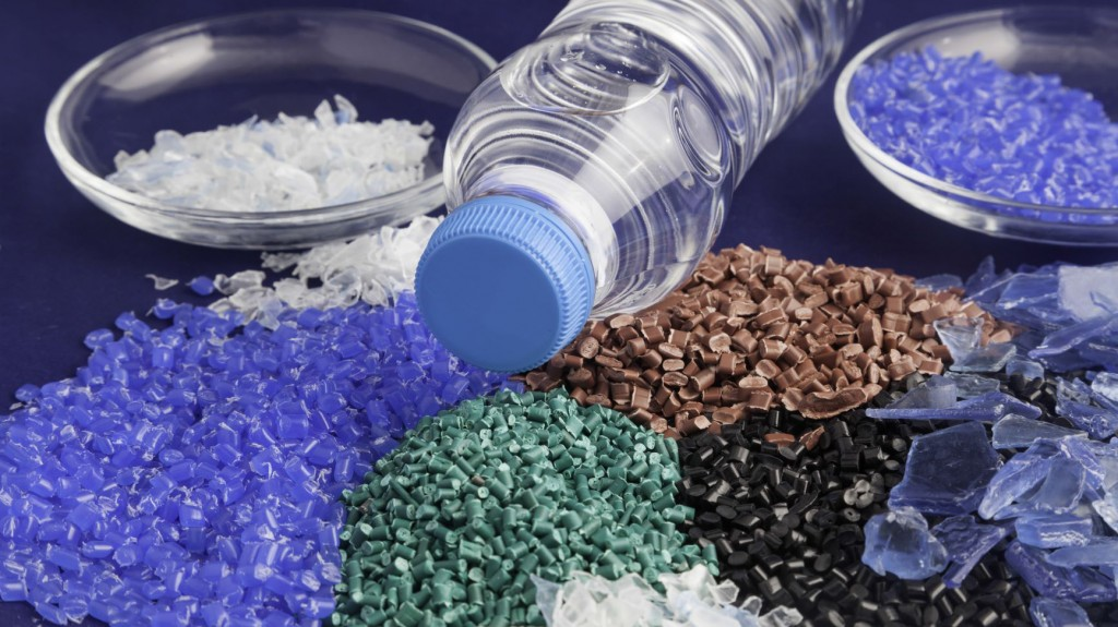 Various plastic for recycling
