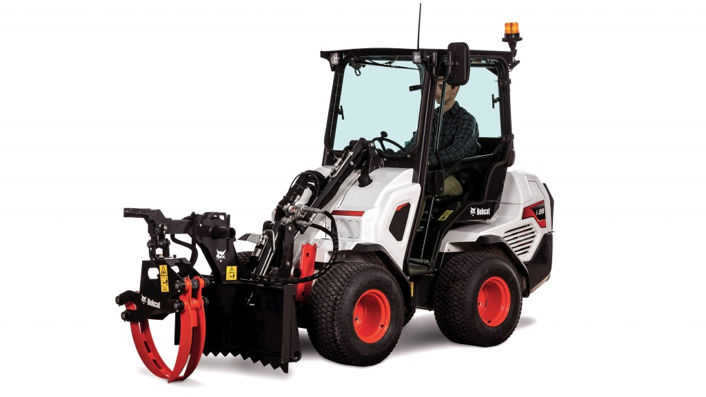 bobcat grapple for mini track loaders and small articulated loaders