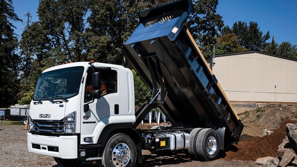 Cummins engines add power to Isuzu vocational truck models