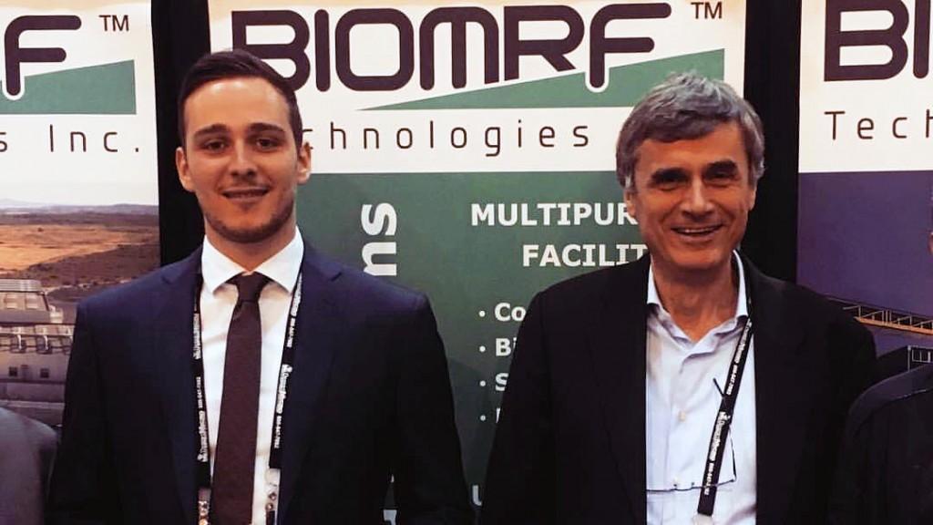 Italian dealer BioMRF's Carlo Castelli and Luigi Castelli