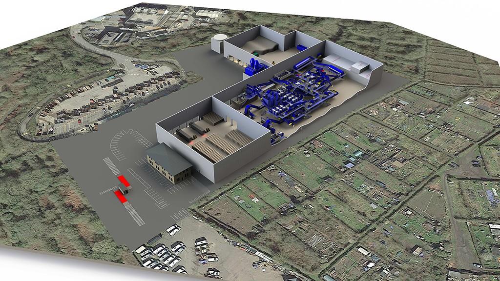 Machinex future MRF in Coventry rendering