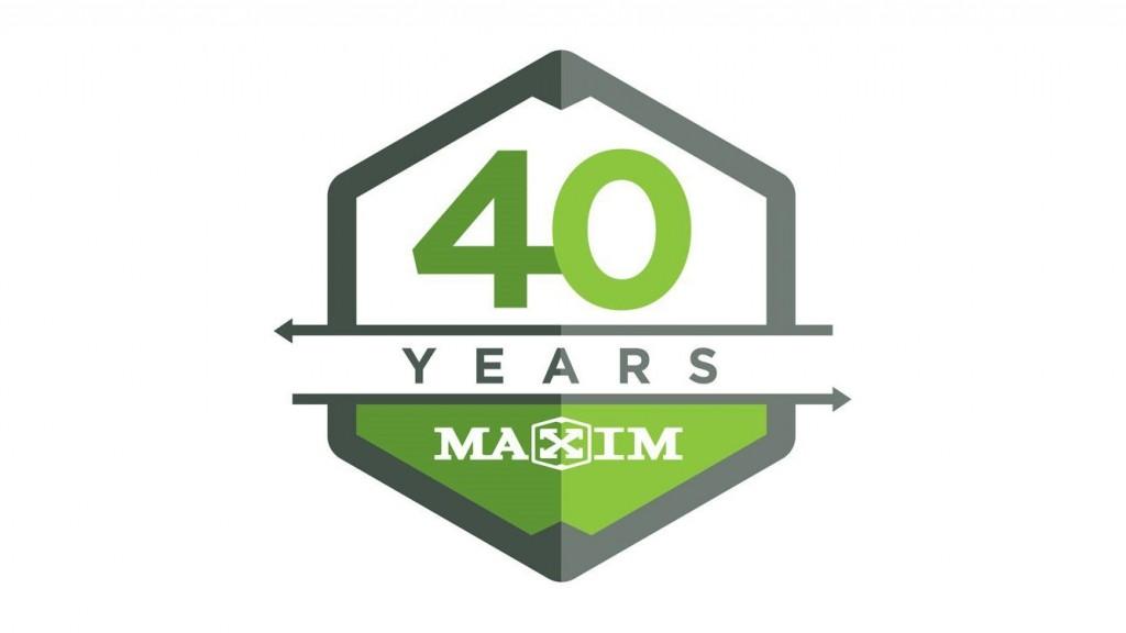 Maxim Truck & Trailer 40 year anniversary banner