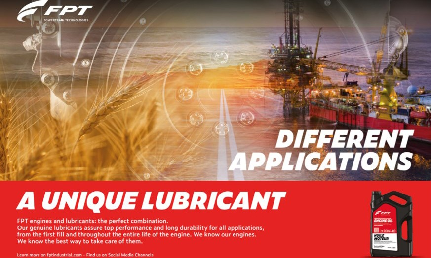 FPT Industrial lubricants banner
