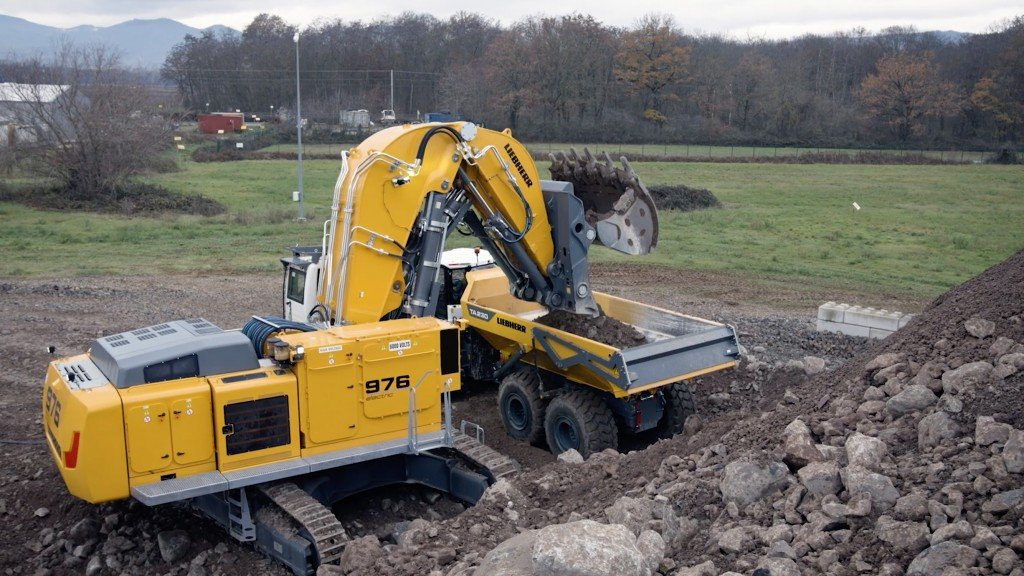 Liebherr releases two new electric crawler excavators for mine and quarry extraction
