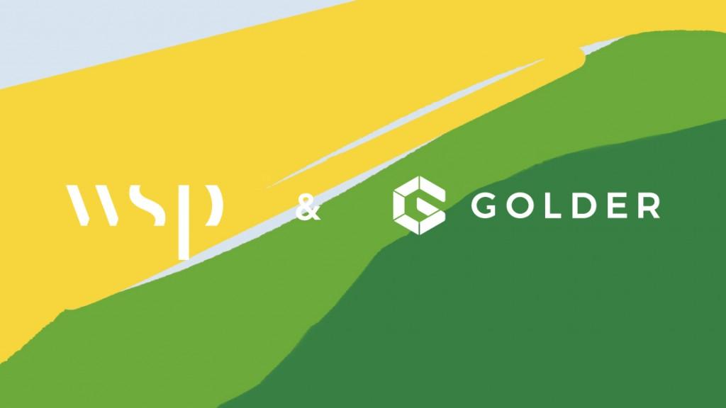 WSP and Golder logos