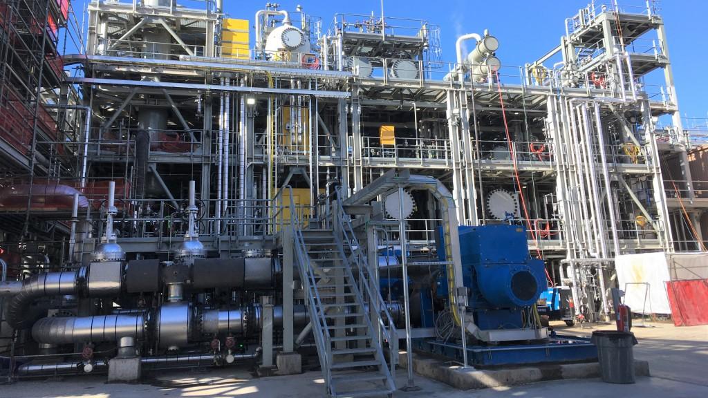 Chevron's refinery in Salt Lake City