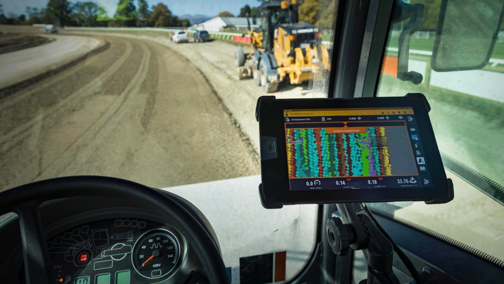 trimble t100-tablet with siteworks