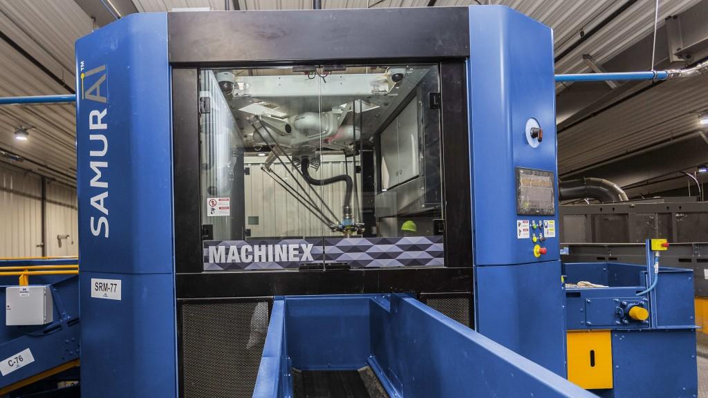 Machinex's SamurAI sorting robot