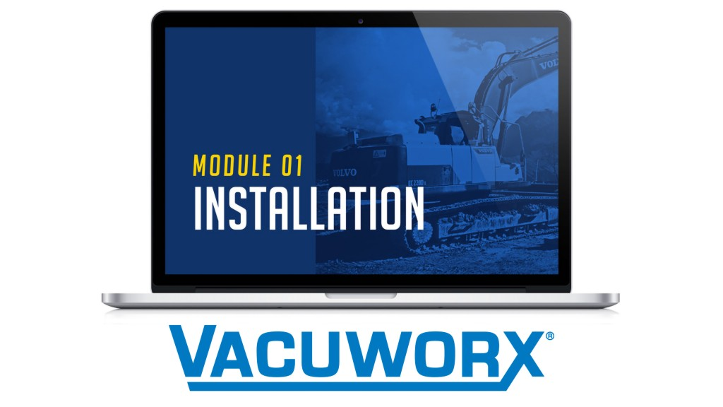 Vacuworx online training program banner