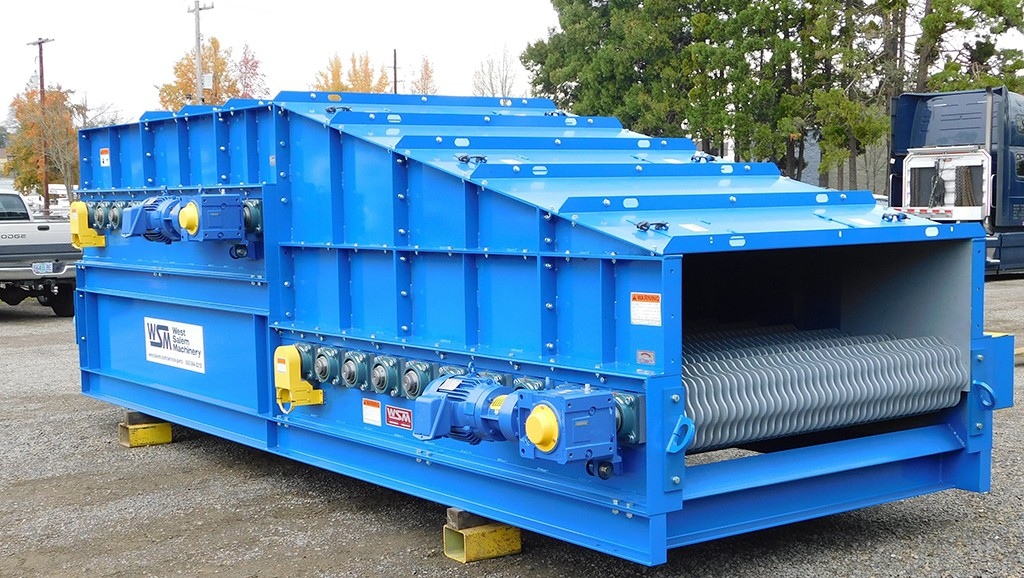 Latest recycling screens from WSM ideal for bark, compost, hog fuel, mulch, sawdust and wood chips