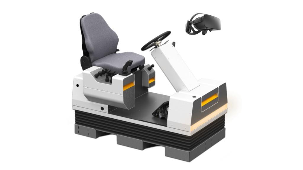 Serious Labs  heavy equipment simulator