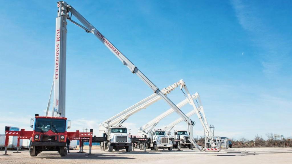 Bronto lift cranes
