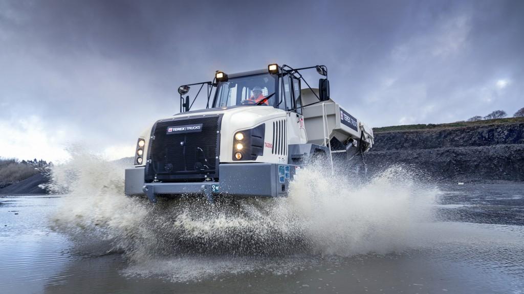TA300 mining terex truck