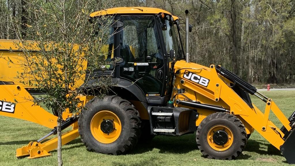 JCB machine