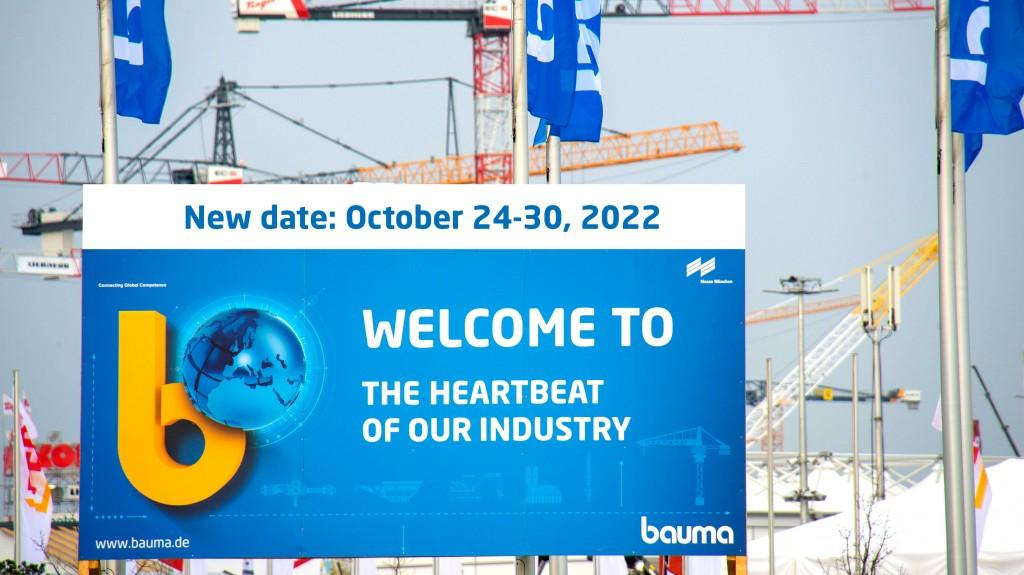 bauma 2022 banner