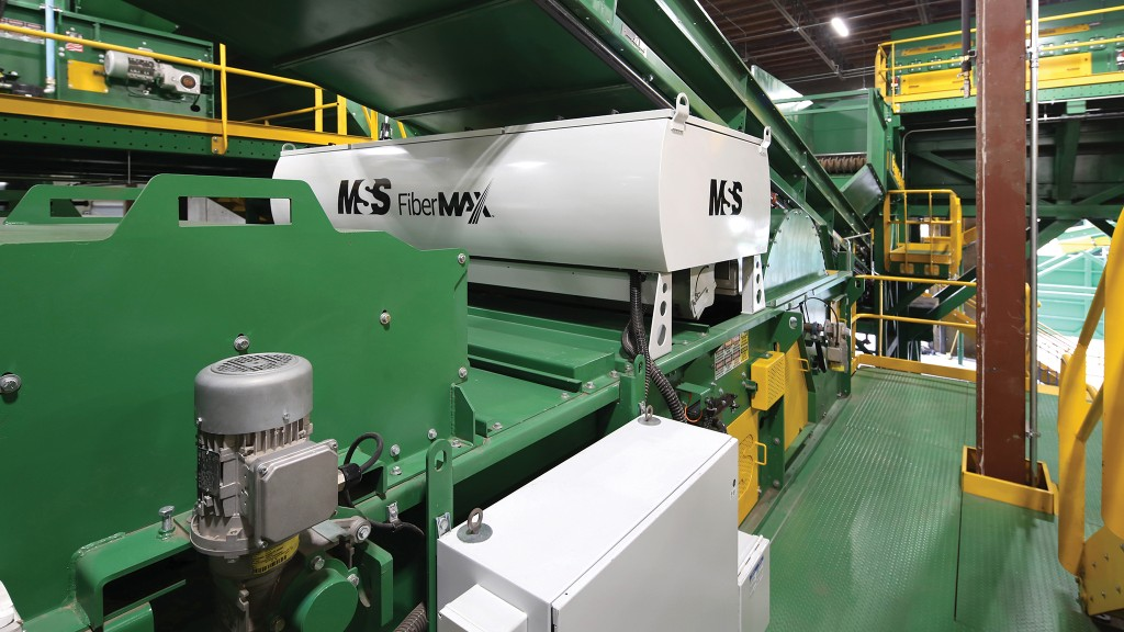 A single MSS FiberMax unit can replace up to 25 manual sorters as it performs up to between 800 and 1,000 picks per minute, versus only about 40 picks per minute for a manual sorter and provides conveyor speed of up to 1,000 feet per minute.