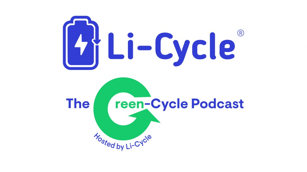 Li-Cycle launches The Green-Cycle Podcast logo