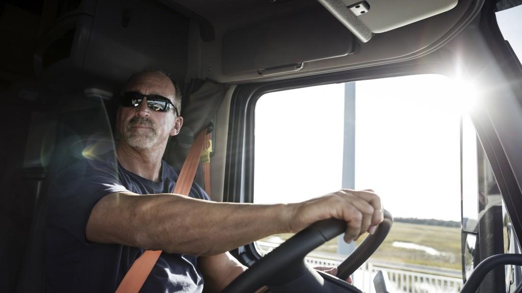 volvo trucks driver lytx telematics