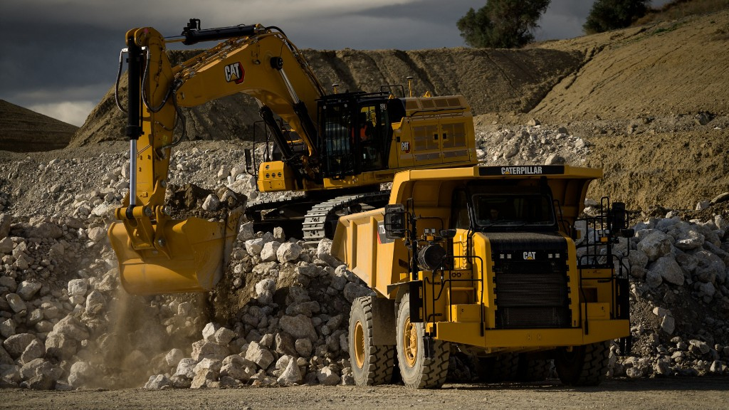 Cat introduced the 374 excavator during the first quarter of 2021.