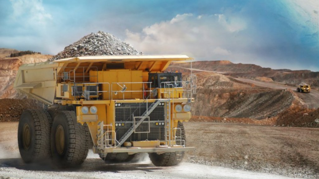michelin xdr 250 tires on a mining truck