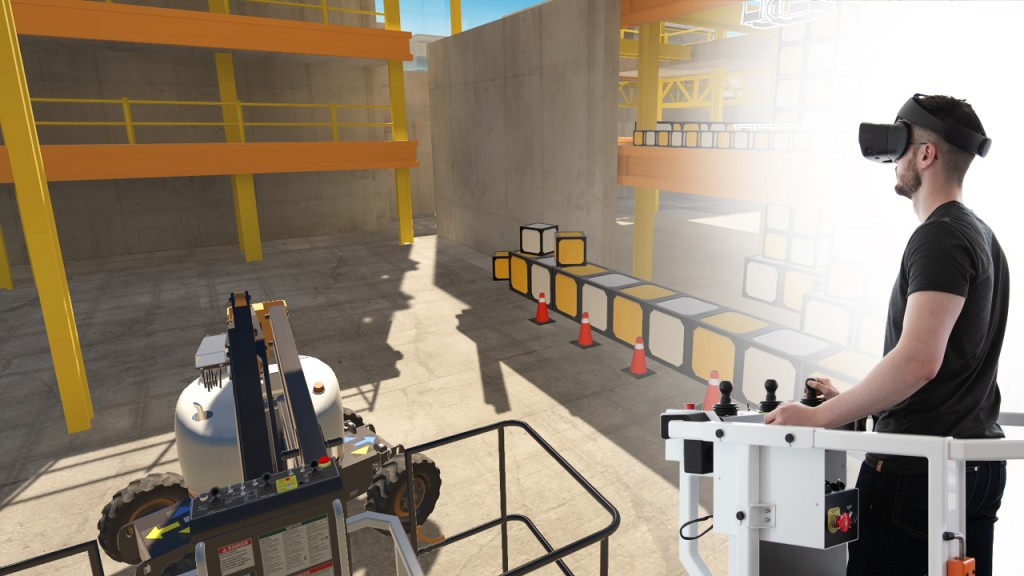 serious labs training simulator Mobile Elevating Work Platform