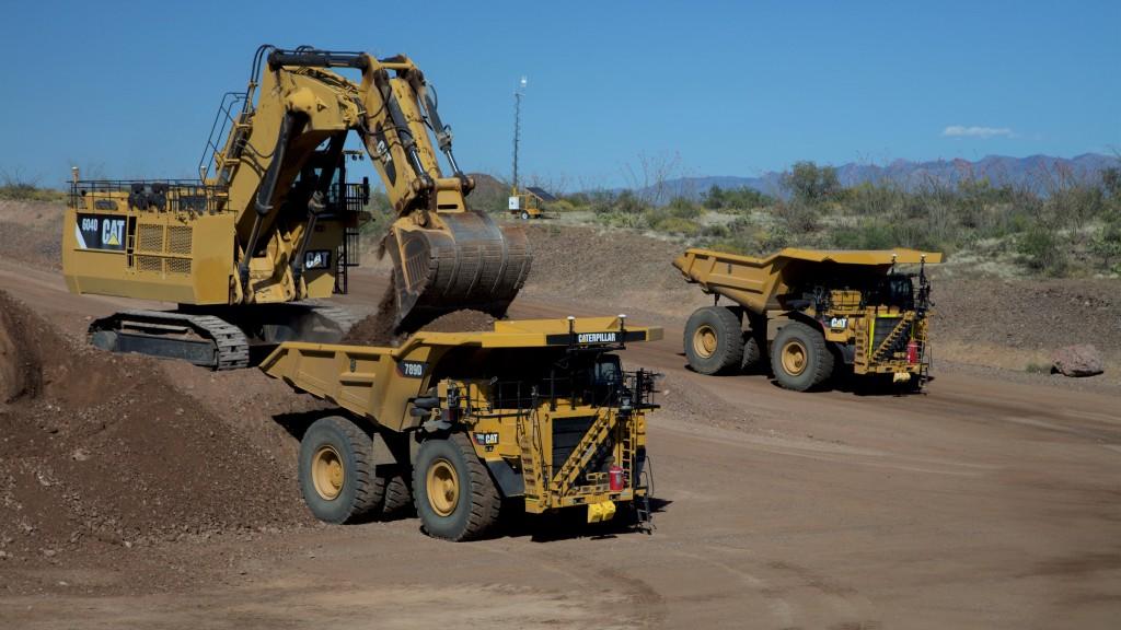 Caterpillar autonomous mining trucks have hauled an additional 1 billion tonnes of material using Cat MineStar Command.