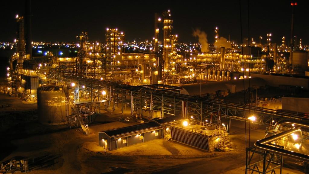 power plant in Alberta