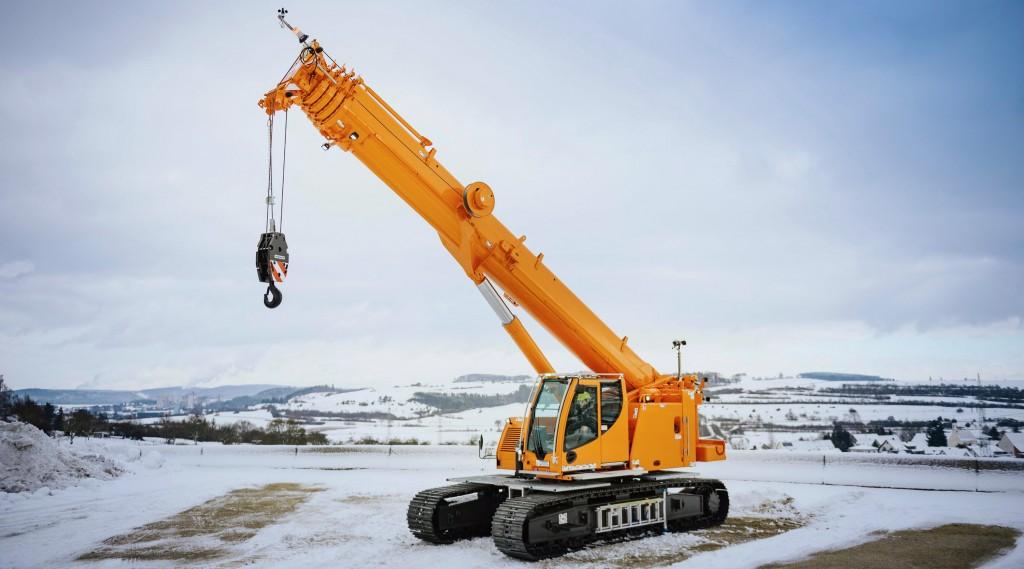 liebherr ltr1040 telescopic crawler crane
