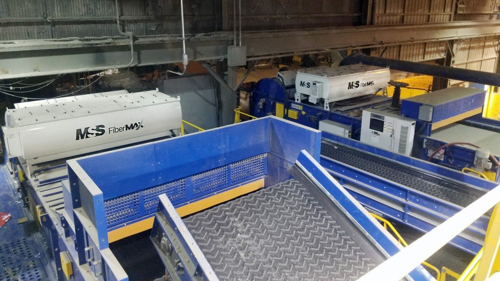 MSS fibermax sorting system for republic services in rabanco