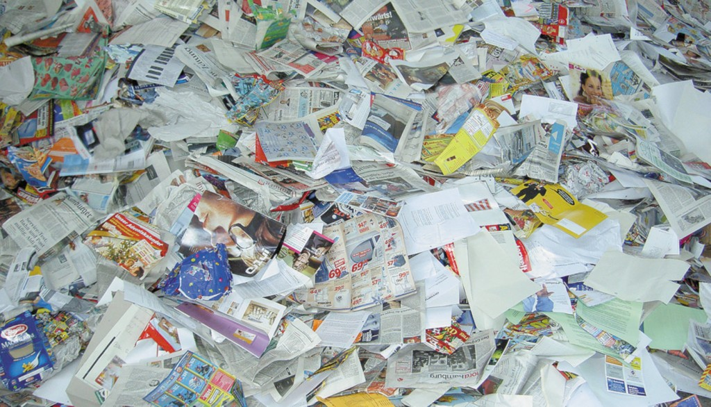 mixed paper recyclable materials