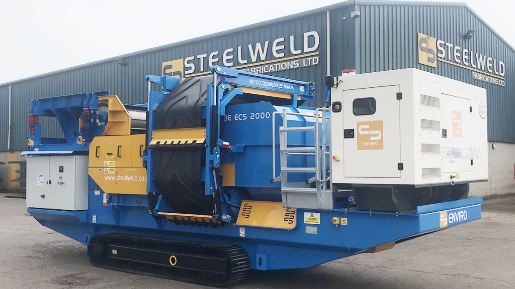 Steelweld Strobe ECS 2000 mobile metal separation system