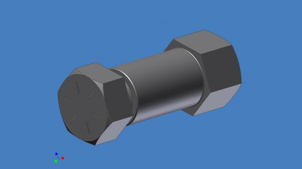 multi piece fastener foreverlok prototype