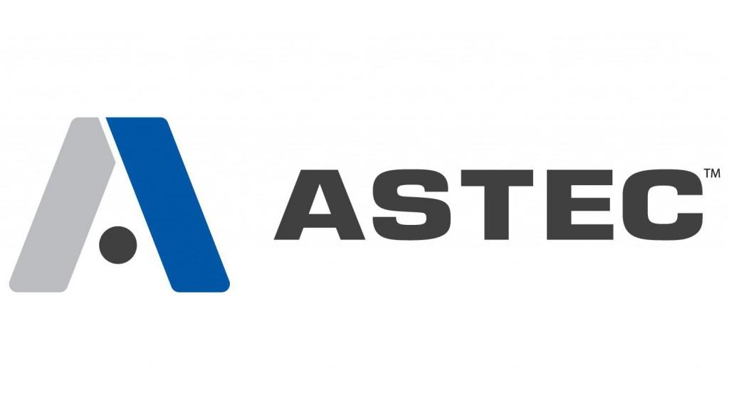 Astec industries rebrand new logo