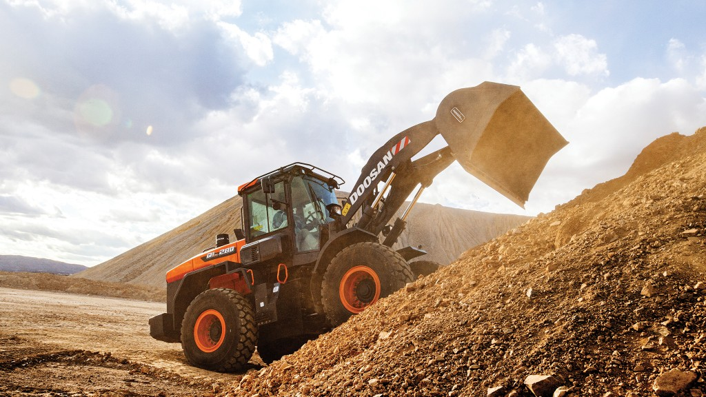 A ground-up redesign has brought a new look to the Doosan wheel loader line.