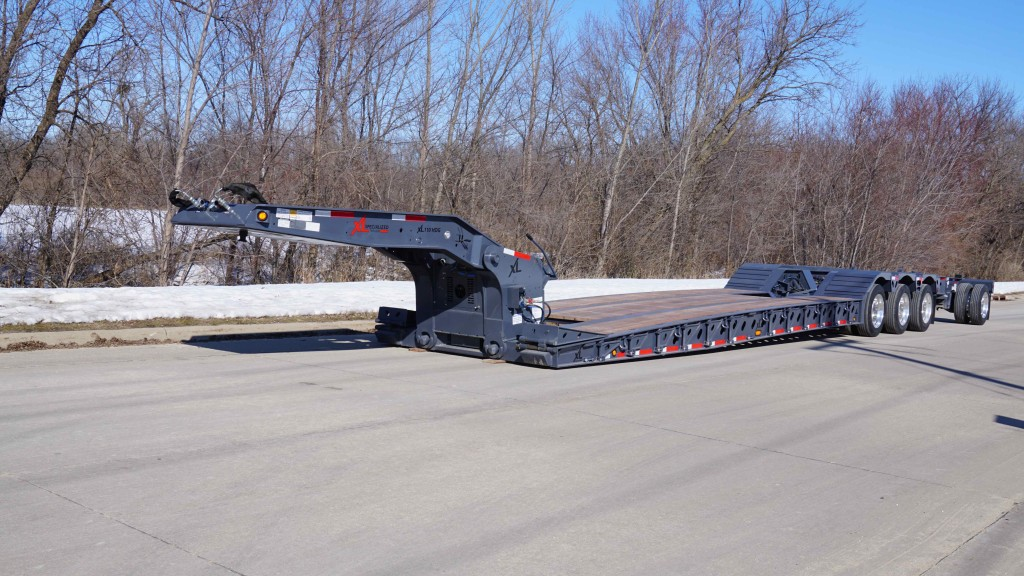 xl specialized hdg paver trailer