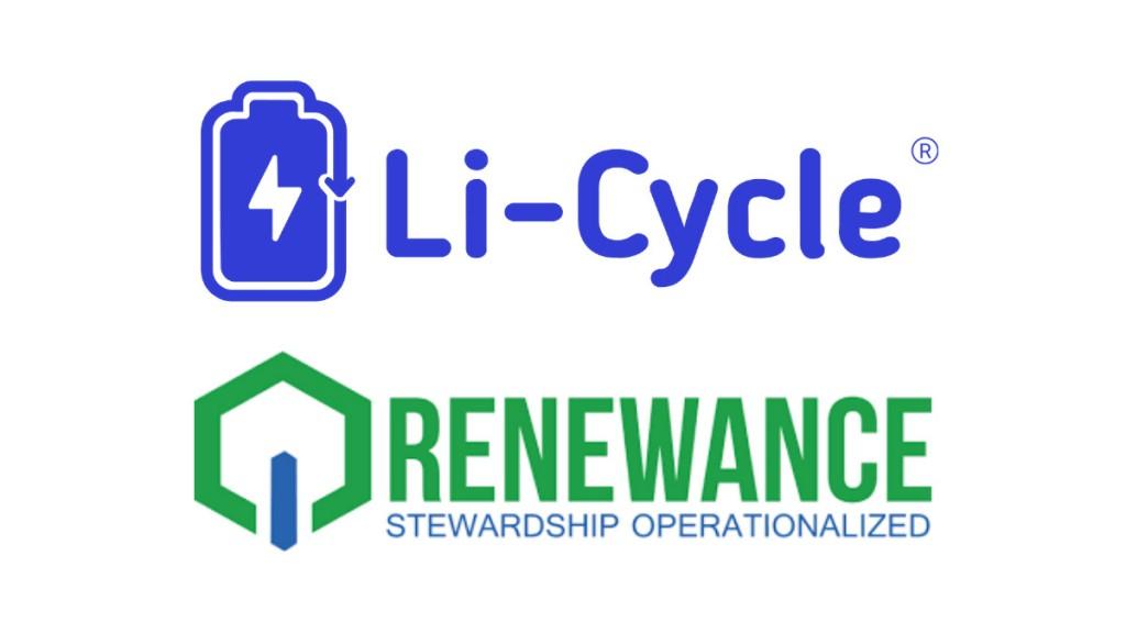 Li-Cycle and renewance logos