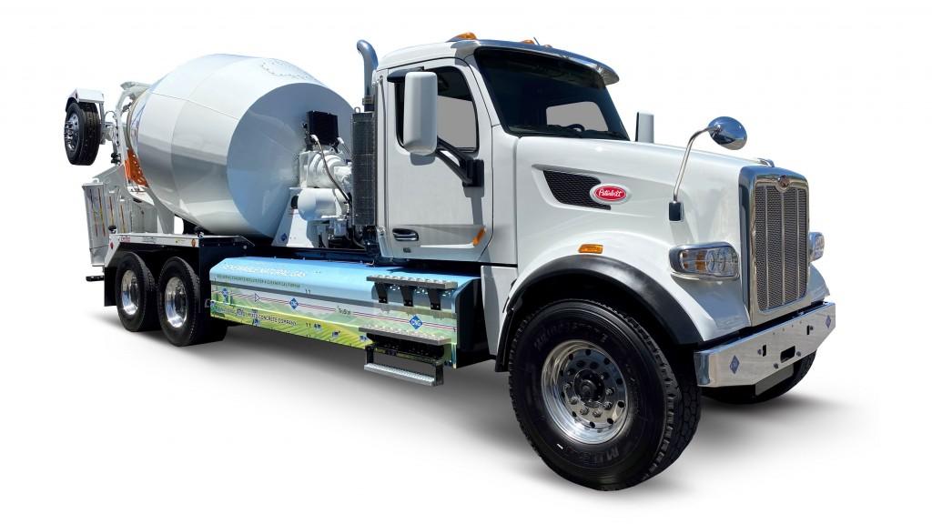 momentum smaller diameter side mount 55dge on peterbilt truck