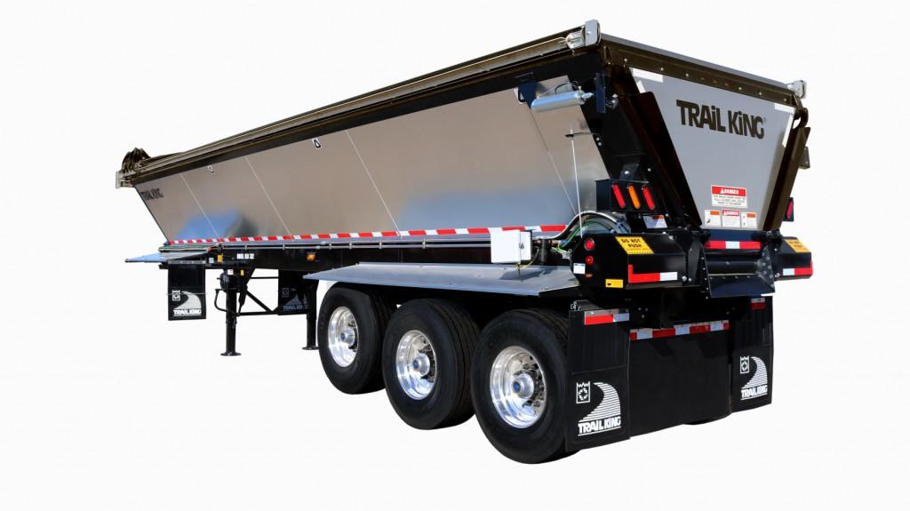 trail king tklb live bottom trailer