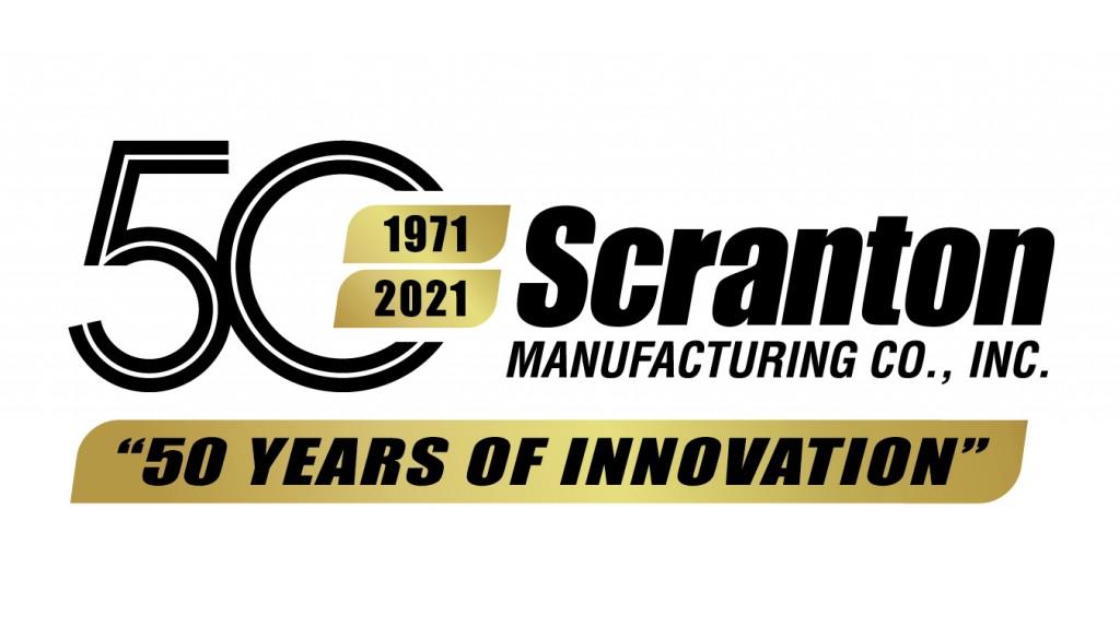 scranton mfg 50th anniversary logo