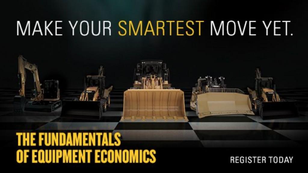 caterpillar the fundamentals of equipment economics banner