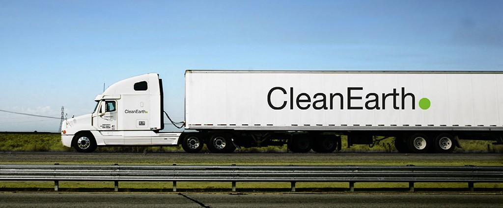 Harsco Clean Earth truck
