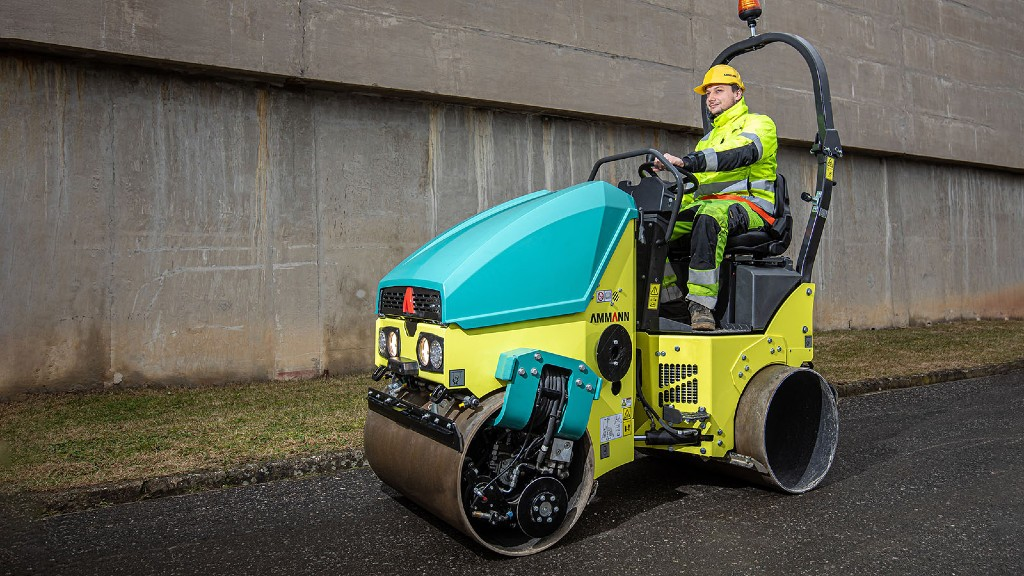 New light tandem rollers from Ammann offer easier transportation, maintenance