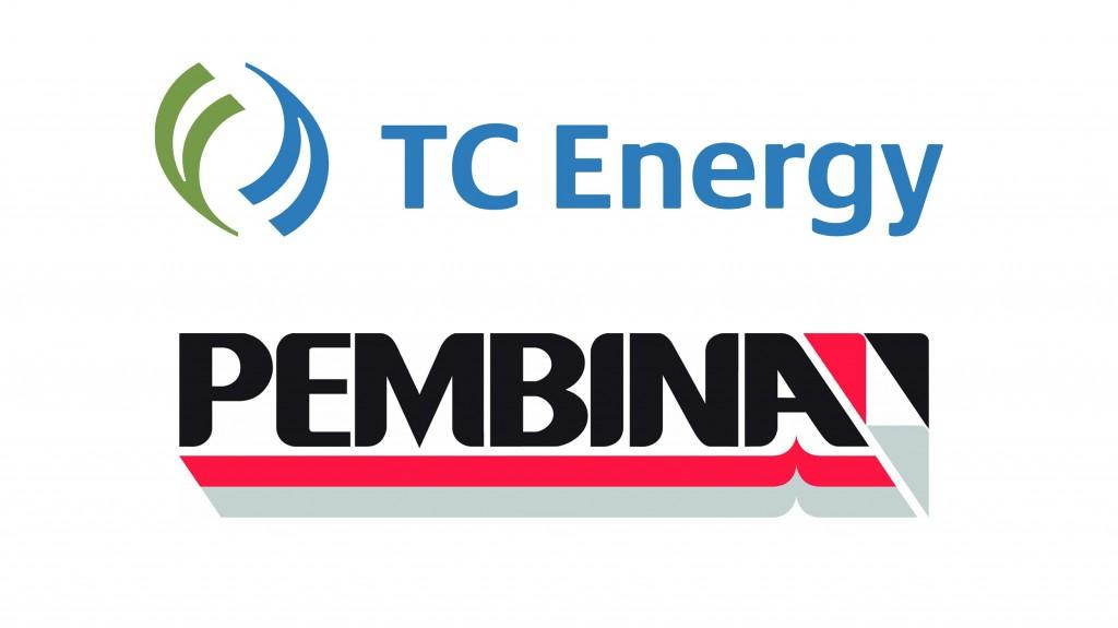 TC Energy and Pembina Pipeline logos