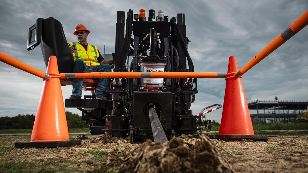 Drilling and trenching continue to drive expansion of high-speed internet